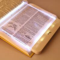萌味 LED平板阅读灯 暑假读书灯学生夜读灯夜间护眼灯看书夜灯床上创意小夜灯氛围灯