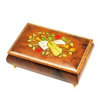 【当当自营】韵升 RHYMES 30音 定制系列 创意礼品 玩具 八音盒 木制 音乐盒 Y30MS3-A2