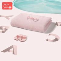 babycare婴儿浴巾 新生儿宝宝纱布毛巾吸水洗澡巾儿童