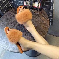 户外女士拖鞋外穿ins潮时尚休闲百搭休闲简约平底女鞋
