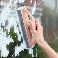 带手柄折叠刷沥水刷日式家居强力去污瓷砖玻璃清洁刷海绵刷子