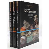 奇石收藏 印章 印石 石雕 砖雕 收藏鉴赏图鉴 32开3本 铜版纸彩色印刷