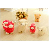 可爱小绵羊公仔仿真小羊羊毛绒玩具嘟嘟羊抱枕玩偶送女友生日礼物