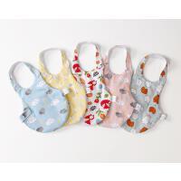 新生婴儿肚兜围裙挂脖宝宝护脐带秋冬季四季通用厚款
