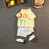 童�b男童套�b夏季�和�短袖T恤�杉�套����夏�b