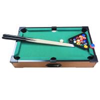 家用迷你台球桌儿童标准型玩具小孩家庭美式黑8小桌球男孩子