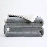 欧美冬季毛毯沙发加厚双层珊瑚绒保暖法兰绒单双人盖毯子午睡
