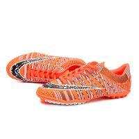 足球鞋男女儿童TF碎钉人造草地专业训练鞋学生防滑短钉平底鞋
