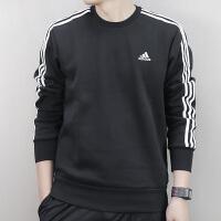 Adidas阿迪达斯 男子 运动休闲卫衣 针织保暖运动套头衫 BQ9645