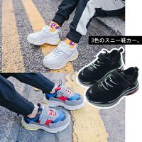 春季童鞋男童运动鞋2018新款儿童牛皮鞋韩版时尚防滑板鞋休闲鞋潮
