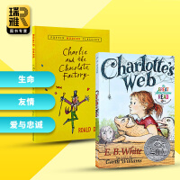 Charlotte's Web 夏洛特的网 查理和巧克力工厂 英文原版小说 夏洛的网 EBWhite怀特 罗尔德达尔Ro