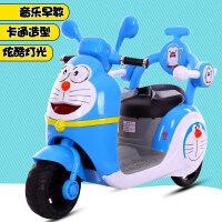 宝宝三轮车充电玩具电瓶童车大号可坐人小孩儿童电动摩托车男孩k6q