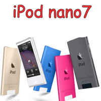 二手 �齑� Apple�O果MP3 ipod nano7 16G7代MP4播放器�拖赂� 16GB 8新