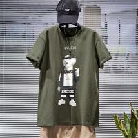 [1件2.5折价41.2元]唐狮短袖t恤男装夏装新款潮流纯棉上衣半袖圆领韩版学生