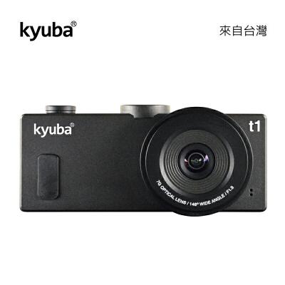 【支持礼品卡】【来自台湾】Kyuba t1 行车记录仪 1080P高清 7层全玻光学镜头 磁力秒拆支架 送16G录像卡一张停车守卫 缩时录影 磁力秒拆支架