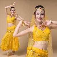 肚皮舞演出服2018新款印度沙丽服装印度舞蹈服装演出服女套装