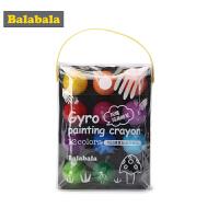 巴拉巴拉儿童蜡笔套装幼儿画笔秋季新款涂色笔 安全无毒12色