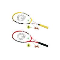 强力 网球拍 网球及回弹器 男女训练运动拍 强力580B 红色/黄色
