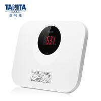 百利达(TANITA) 体重秤 电子秤 家用精准成人称重人体秤 健康称 日本品牌 HD-394 白色