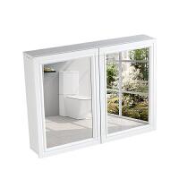 铝合金浴室壁挂镜柜 卫生间镜柜挂墙式镜箱卫浴柜吊柜储物柜