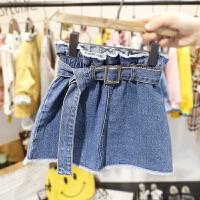 2-6岁女宝宝牛仔半身裙女婴儿春夏装韩版百搭3小女童束腰短裙