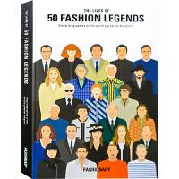 【英文版】THE LIVES OF 50 FASHION LEGENDS 50个时装界的传奇人物生平轨迹书籍