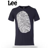 Lee男士短袖T恤 新款休闲圆领舒适凉爽 棉质T恤 L15144V41B9D