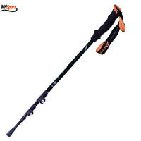 登山杖加厚碳纤维外锁伸缩折叠男女手杖碳素拐杖正品