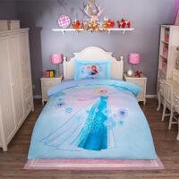 迪士尼儿童全棉数码印花四件套宝宝床单被套枕套