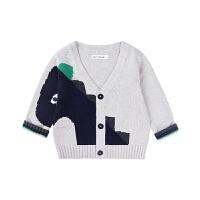 宝宝毛衣开衫男女童针织衫儿童毛衫薄外套