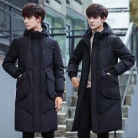 羽绒服男轻薄秋冬保暖新款青年短款连帽衣服男装加厚外套潮