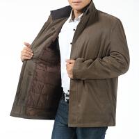 中老年棉袄外套男装冬装60岁爸爸70-80老爷爷加厚内胆可拆卸棉衣