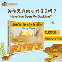 【99选5】美国进口 凯迪克银奖 Have You Seen My Duckling? 撕不破纸板低幼宝宝启蒙故事绘本思维拓展