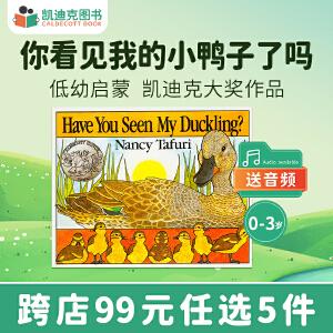 美国进口 凯迪克银奖 Have You Seen My Duckling? 撕不破纸板低幼宝宝启蒙故事绘本思维拓展