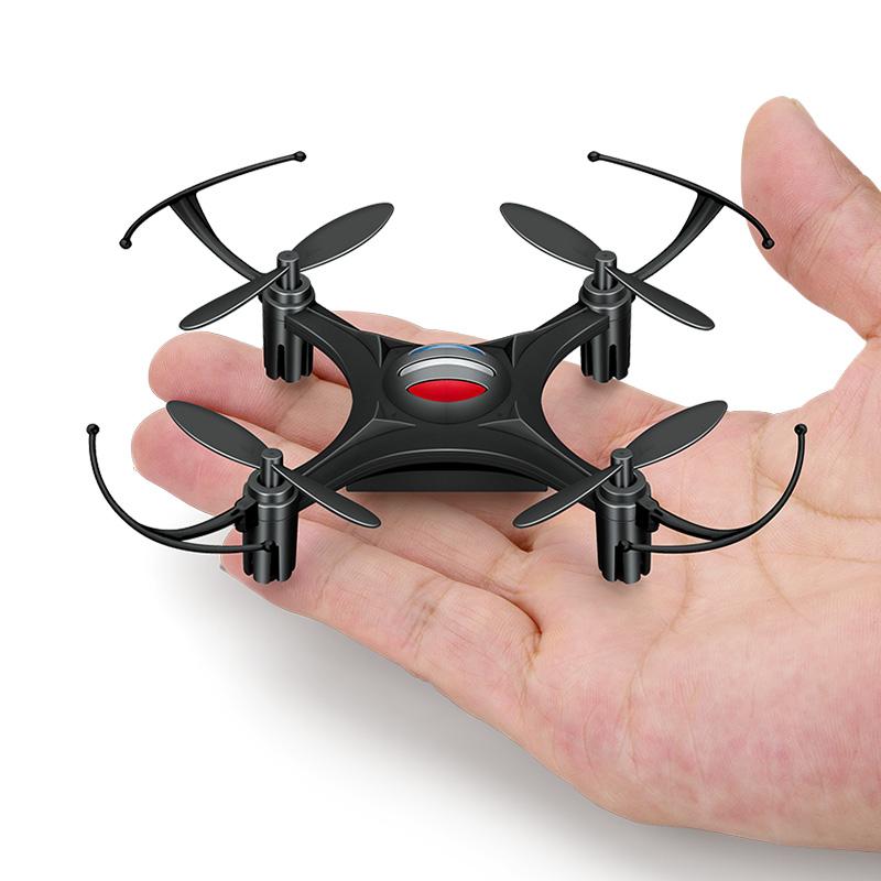 遥控飞机迷你无人机mini四轴飞行器智能定位悬浮充电耐摔男孩玩具 默认续航无忧配置(四块电池)带一拖四充电器
