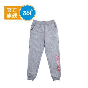 361° 361度童装 女童裤子针织长裤 春季儿童裤子 K61813560