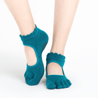 专业瑜伽袜加厚女四季运动环保防滑五指按摩瑜珈用品愈加袜子运动袜跑步袜健身袜防滑袜地板袜