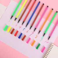 儿童水彩笔套装小学生彩色笔绘画安全环保可水洗单支水彩笔
