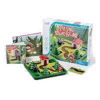 桌游小红帽与大灰狼亲子智力通关解题玩具益智逻辑思维桌面游戏