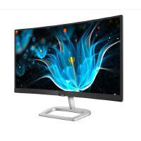 飞利浦(PHILIPS) 23.6英寸 广色域1500R曲面 低蓝不闪爱眼 电脑屏幕 液晶显示器248E9QHSB