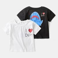 亲子装卡通T恤 宝宝夏季薄款男童体恤女童夏装上衣儿童装