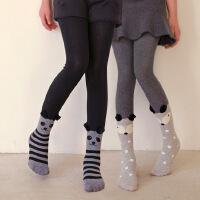 儿童连裤袜中大童打底袜秋冬新款