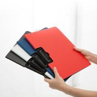 加厚树德U6033 办公文件夹垫板A4资料夹商务合同夹板夹 办公用品