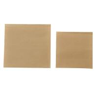 商吉 鸡排手抓饼袋子牛皮纸小吃打包袋一次性防油纸袋食品包装袋
