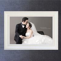 24寸婚纱照放大相框墙创意挂墙结婚照片墙水晶摆台制作大相片框36