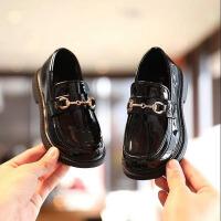 女童皮鞋 英伦风黑色演出鞋春秋皮面单鞋软底小学生白色公主儿童鞋