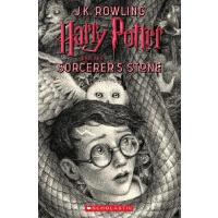 【现货】英文原版 哈利波特与魔法石 20周年纪念版 美国版 Harry Potter and the Sorcerer