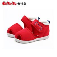 夏季学步鞋男女宝宝凉鞋婴儿软底机能鞋0-5岁
