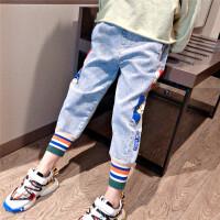 女童牛仔裤2020新款儿童中大童春秋宽松版裤子