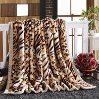家纺2017秋冬季新款棉被子毛毯加厚冬季双层单人双人学生毛绒毯子铺床盖毯
